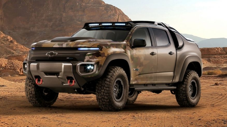 Chevrolet's hydrogen-powered stealth truck enlists with U. S. Army